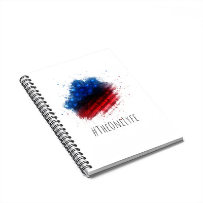'Merica Splat Spiral Notebook - Ruled Line