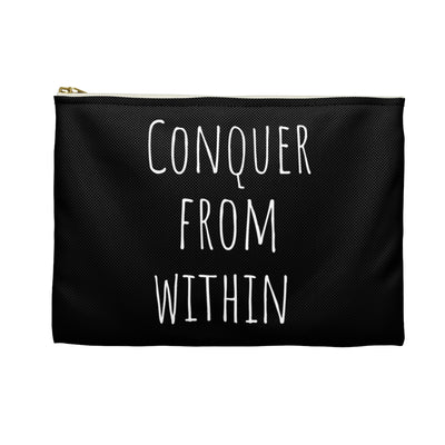 Conquer From Within Pouch
