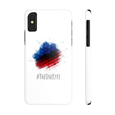 'Merica Splat Slim Phone Cases