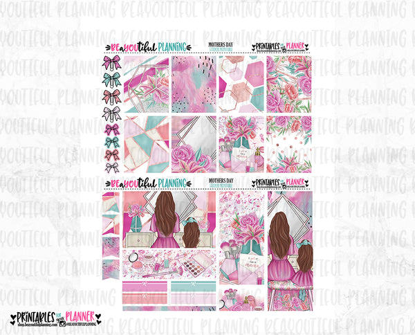 Mothers Day Printable Planner Stickers