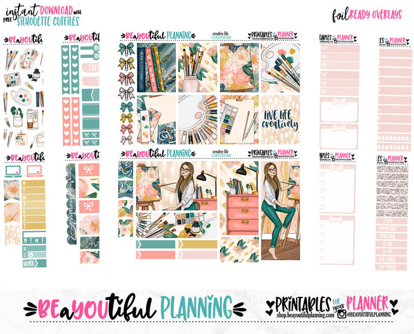 Creative Life Foil Ready Weekly Printable