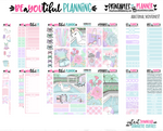 Summer Fun Printable Planner Stickers