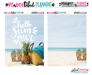 Hello Summer Cover Printable