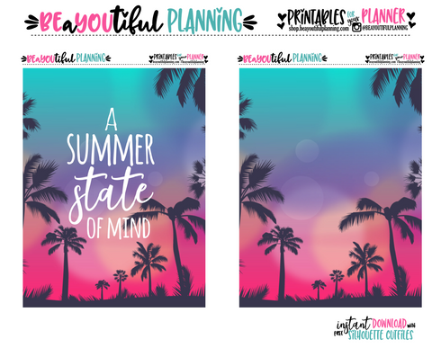 Summer State of Mind Cover Printable