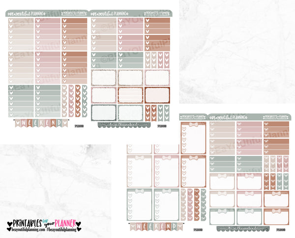 Spellbound Weekly Printable Planner Stickers