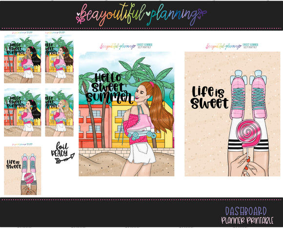 Sweet Summer Cover Printable