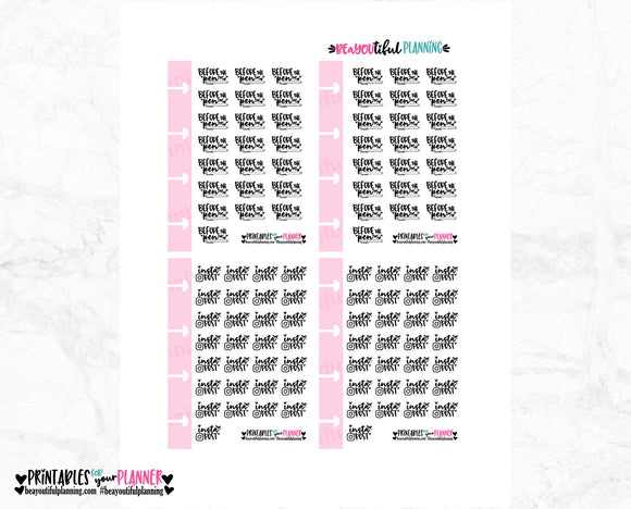 Before the Pen Micro HP Printable Bows & Hearts