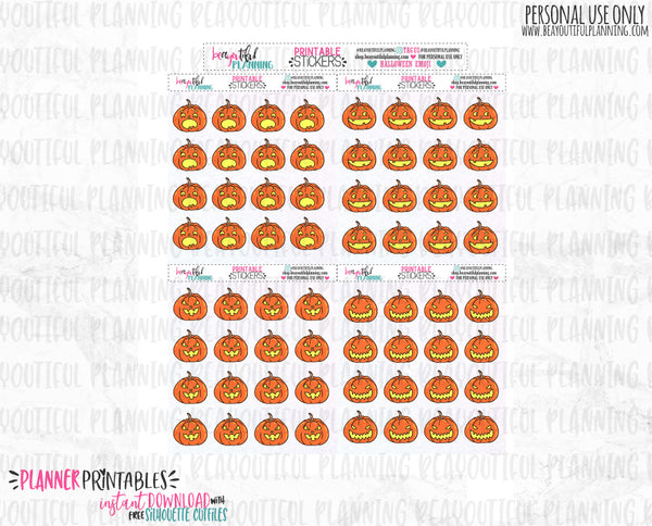 Halloween Emoji Printable