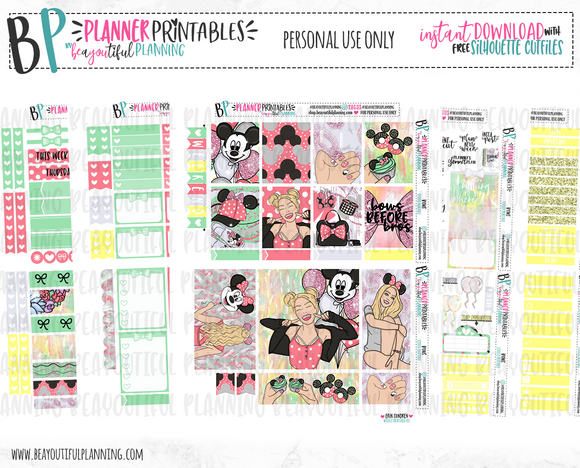 Bows before Bros Weekly Printable
