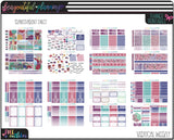 Reflections Vertical Weekly Planner Printable