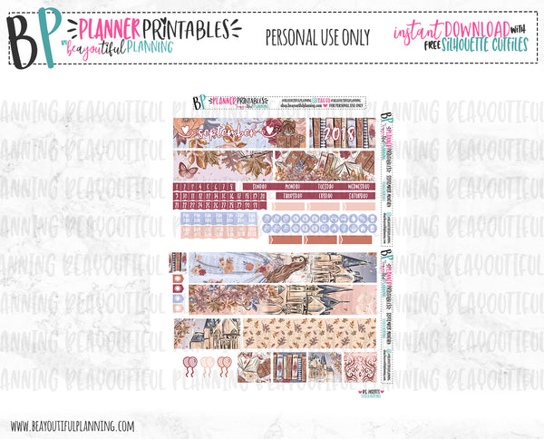 September Monthly Printable