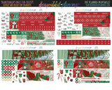 Santa December - Monthly Printable *Choose Your Planner*