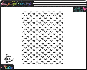Bows Planner Printable Vellum or Acetate