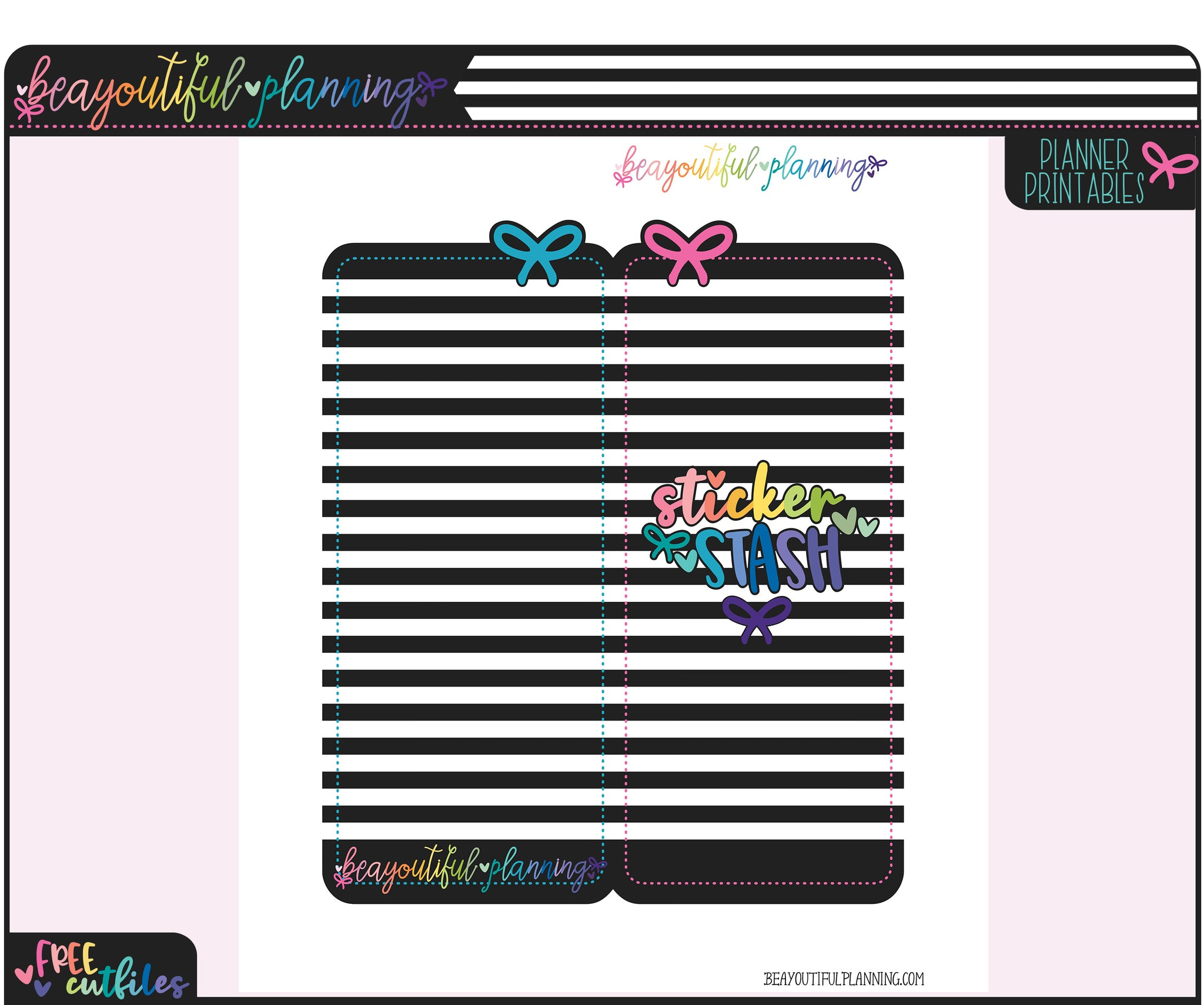 BP Sticker Stash Folder Sticker Printable