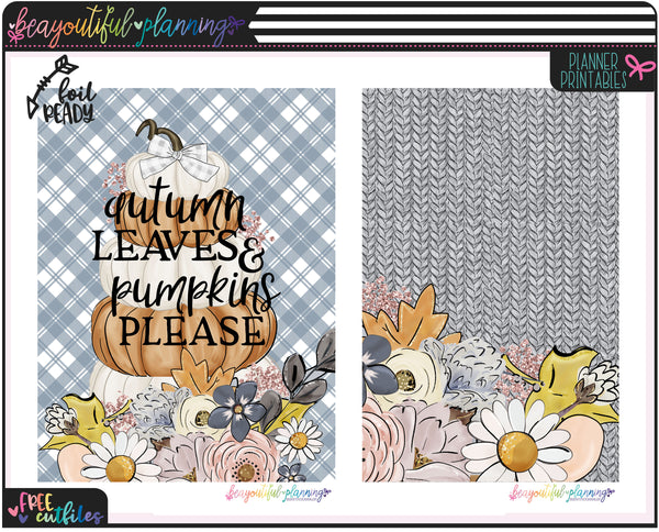 Pumpkins Cover Printable