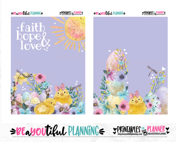 Faith Hope Love Cover Printable