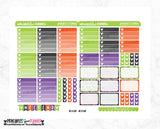 Not So Scary Weekly Printable Planner Stickers