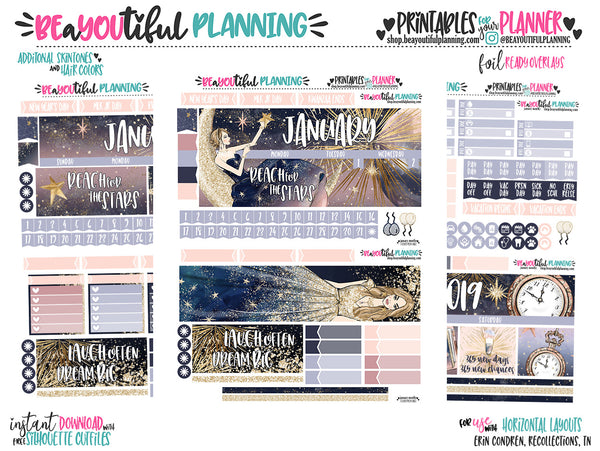January Monthly Printable