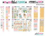 Sunshine Weekly Planner Printable Stickers