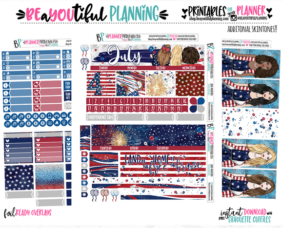 July Monthly Printable