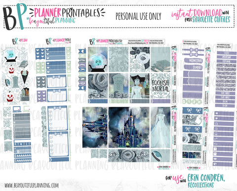 Foolish Mortal Weekly Printable