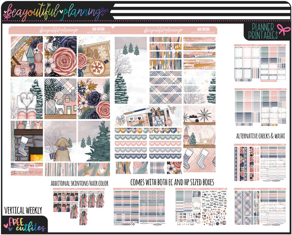 Cold Outside Weekly Printable *Choose Your Planner*