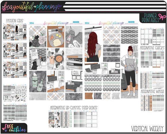 Home Bound Weekly Printable *Choose Your Planner*
