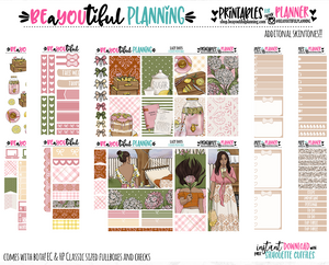 Lazy Days Printable Planner Stickers