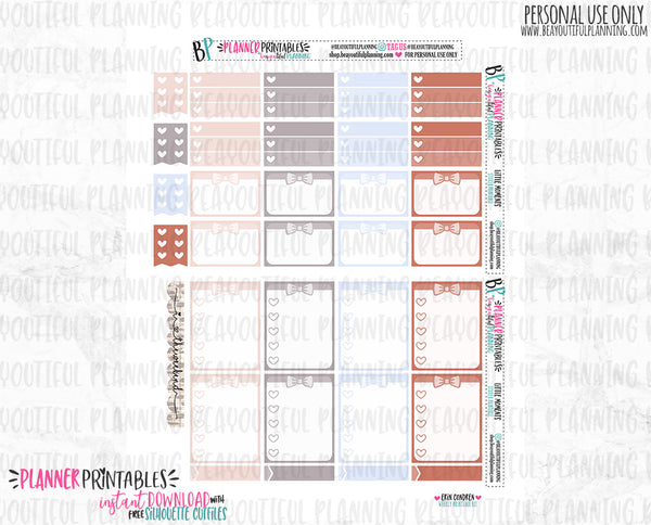 Little Moments Weekly Printable