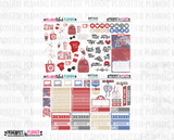 Happy Place Printable Planner Stickers