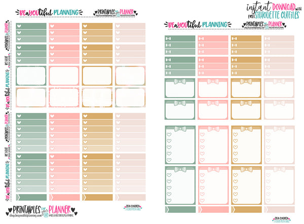 Be light Weekly Printable