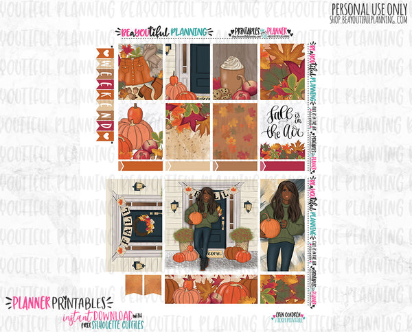 Fall is in the Air Weekly Printable