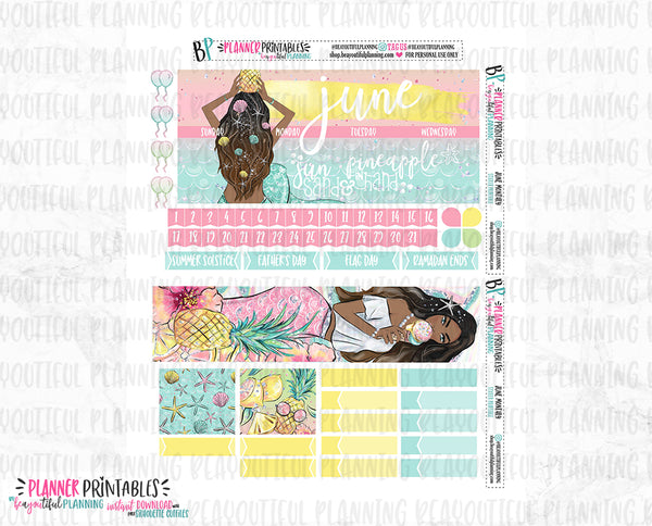 June Monthly Printable
