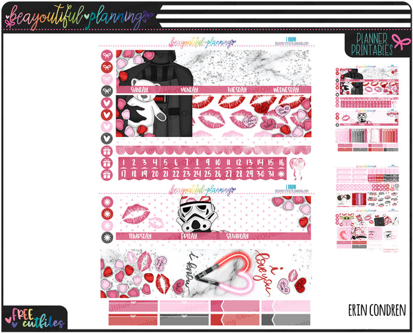 I Know Monthly Printable *Choose Your Planner*