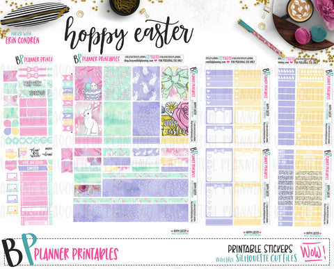 Hoppy Easter Printable *Choose Your Planner*