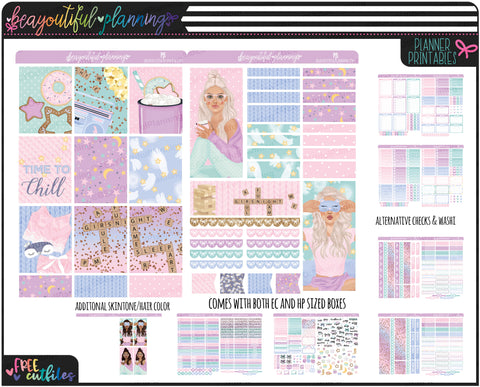 Pjs Weekly Printable *Choose Your Planner*