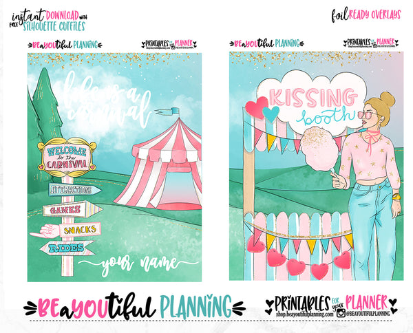 Carnival May Cover Printable