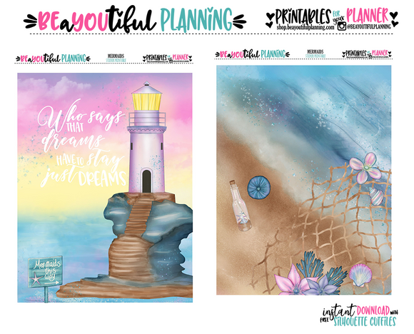 Mermaids Cover Printable
