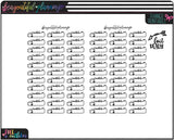 Watch Labels Functional Printables *Choose Rainbow or Foil Ready *