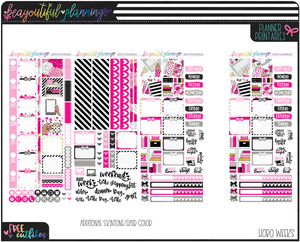 Planner Girl Weekly Printable *Choose Your Planner*