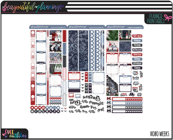 Jolly Gnomes Weekly Printable *Choose Your Planner*