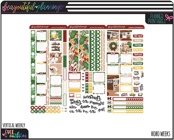 Magical Holidays Weekly Printable *Choose Your Planner*