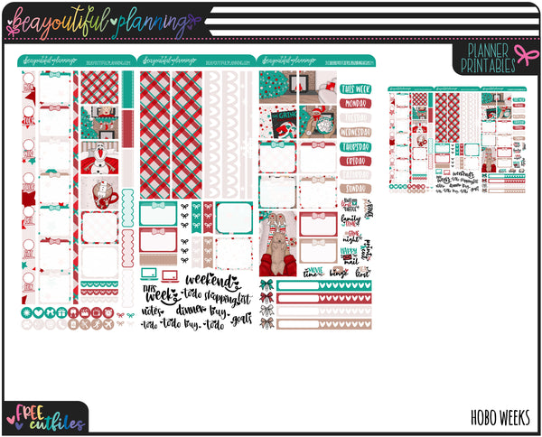 Sleigh All Day Weekly Printable *Choose Your Planner*