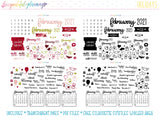 2021 Monthly Holiday Printables