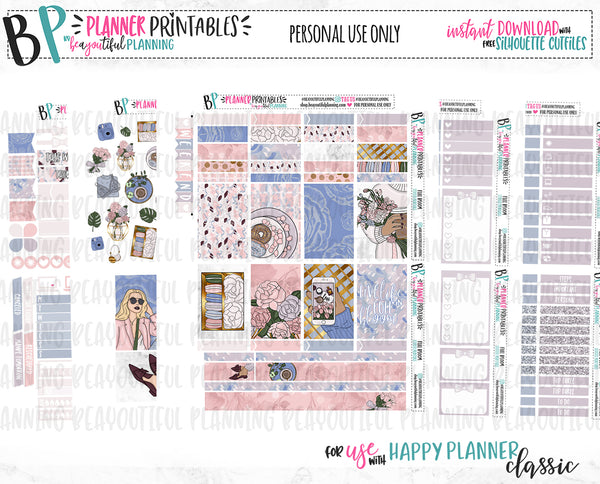 Life in Full Bloom Weekly Printable
