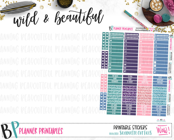 Wild and Beautiful Printable