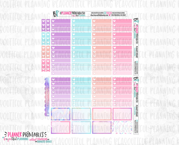 Planner Friends Weekly Printable