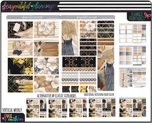 Roaring New Year Weekly Printable *Choose Your Planner*