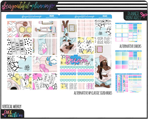 Dreamer Weekly Printable *Choose Your Planner*