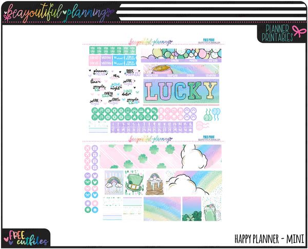 Pinch Proof Monthly Printable * Choose Your Planner *